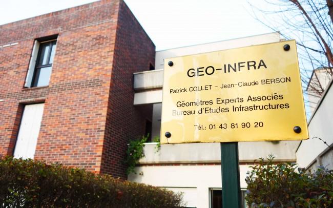 Entrée du cabinet - GEO-INFRA